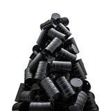 Pico dos cilindros de óleo Imagem de Stock Royalty Free