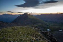 Pico dos cinzas - Colorado imagem de stock royalty free
