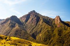 Pico dos Marins在巴西 库存照片