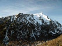 Pico elevado de Tatras - de Slavkovsky (2 452 m) Fotografia de Stock