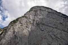 Pico em montanhas de Karwendel foto de stock royalty free