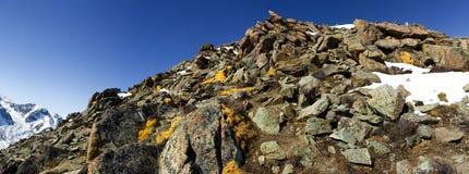 Pico grande de Almaty Fotos de Stock Royalty Free