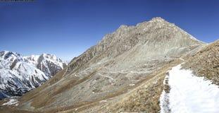 Pico grande de Almaty Imagem de Stock Royalty Free