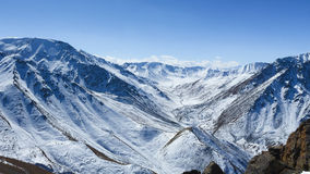 Pico grande de Almaty Imagem de Stock