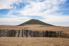 Pico hace a Monte Negro, la montaña más alta del estado de RS Imagen de archivo