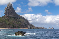 Pico Hill Fernando de Noronha Brazil Stock Photo