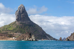 Pico Hill Fernando de Noronha Brazil Royalty Free Stock Photos