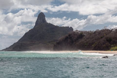 Pico Hill Fernando de Noronha Brazil Stock Photography