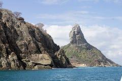 Pico Hill Fernando de Noronha Brazil Royalty Free Stock Photos