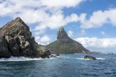 Pico Hill Fernando de Noronha Brazil Royalty Free Stock Photo