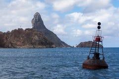 Pico Hill Fernando de Noronha Brazil Stock Image