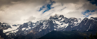 Pico Himalaia Imagens de Stock