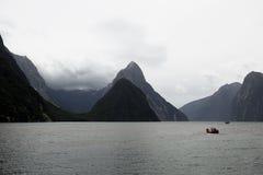 Pico icónico del inglete, Nueva Zelanda Imagenes de archivo