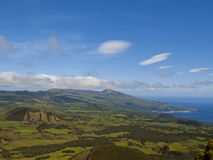 Pico island and ocean Stock Images