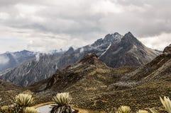 Pico Los Nevados imagenes de archivo