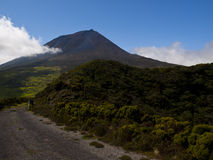 Pico mountain, Azores Royalty Free Stock Photo