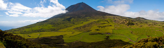 Pico mountain, Azores Stock Photo