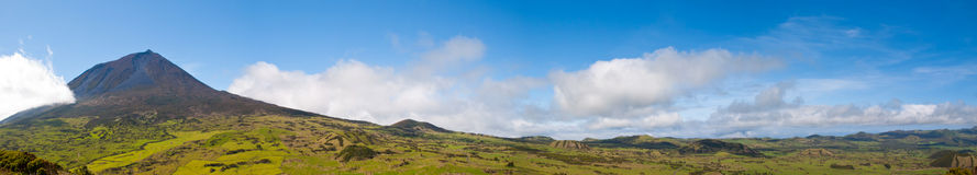 Pico mountain, Azores Royalty Free Stock Images