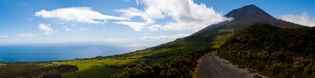 Pico mountain, Azores Stock Images