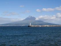 Pico mountain view Royalty Free Stock Image