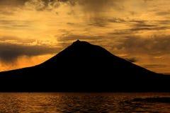 Pico Mountain von Azoren, Portugal lizenzfreies stockbild
