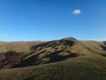 Pico nas montanhas Carpathian Fotos de Stock