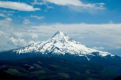 Pico nevado Fotografia de Stock Royalty Free