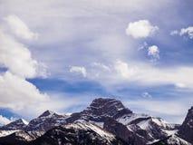 Pico nevado Foto de archivo libre de regalías