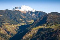 Pico nevado Fotografía de archivo libre de regalías