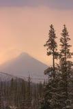 Pico norteño lejano Fotografía de archivo libre de regalías