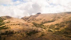 Pico robi Arieiro w madery wyspie, Portugalia antena Obraz Stock