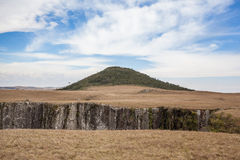 Pico robi Monte murzyna wysoka góra w RS stanie Obraz Stock