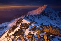 Pico rocoso Imagen de archivo libre de regalías