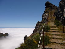 Pico ruivo in Madeira Royalty Free Stock Photography