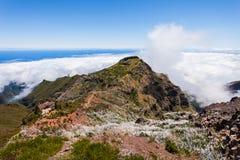 Pico Ruivo, Madeira Island Stock Photography