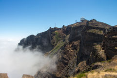 Pico Ruivo - Madeira - Portugal Royalty Free Stock Images