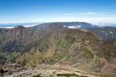 Pico ruivo mountain, Madeira Royalty Free Stock Images