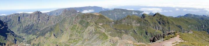 Pico ruivo mountain, Madeira Stock Image