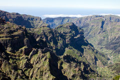 Pico ruivo mountain, Madeira Stock Photos