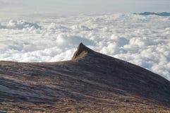 Pico sul da montagem Kinabalu Fotos de Stock Royalty Free