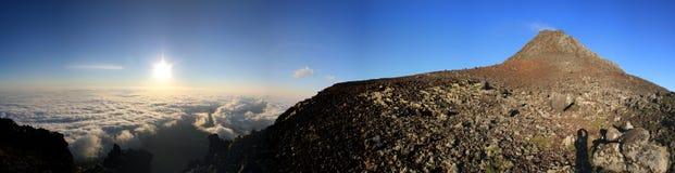 Pico Sunrize全景 免版税库存照片