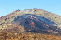 Pico Viejo, национальный парк El Teide, Тенерифе Стоковая Фотография