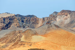 Pico Viejo, El Teide park narodowy Obrazy Royalty Free