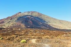 Pico Viejo, El Teide park narodowy Zdjęcie Royalty Free