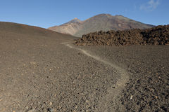 Pico Viejo and Mount Teide Stock Photo