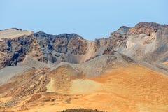 Pico Viejo, parco nazionale di EL Teide immagini stock libere da diritti