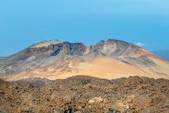Pico Viejo, parco nazionale di EL Teide, Tenerife fotografie stock libere da diritti