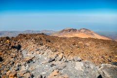 Pico Viejo, parco nazionale di EL Teide, Tenerife fotografia stock