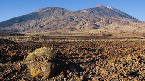 Pico Viejo and Teide Royalty Free Stock Images