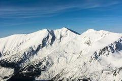 Pico - vrch de Baraniec, de Baraniec Wielki, de Baranec, de Velky) Fotos de Stock